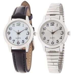 Eternity Women Classic Analogue Double Watch Set