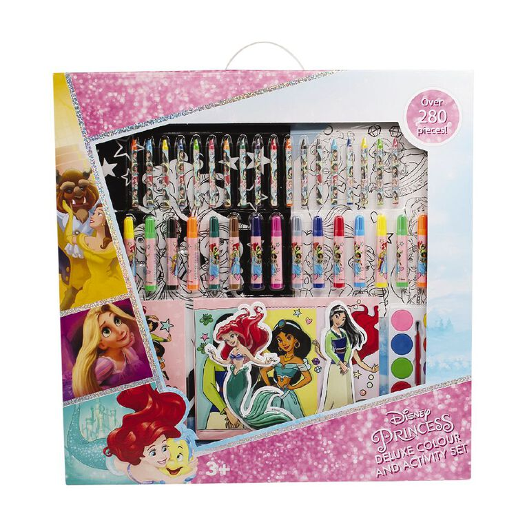 Disney Princess Deluxe Colour & Activity Set, , hi-res