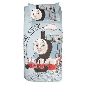 Thomas & Friends Duvet Cover Set Blue Single