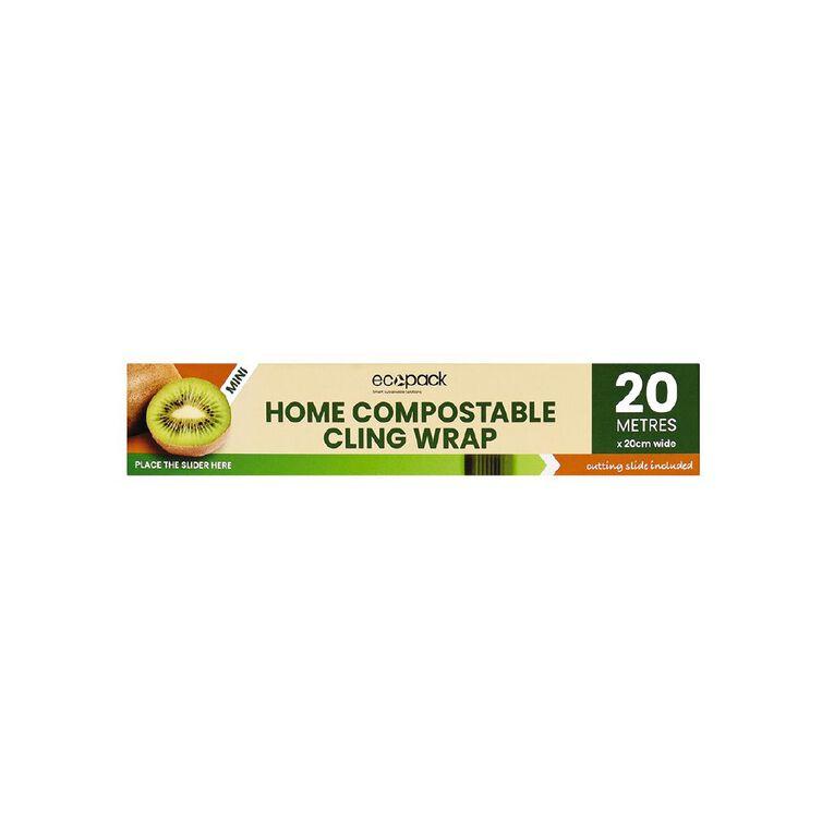 Ecopack Mini Home Compostable Cling Wrap, , hi-res