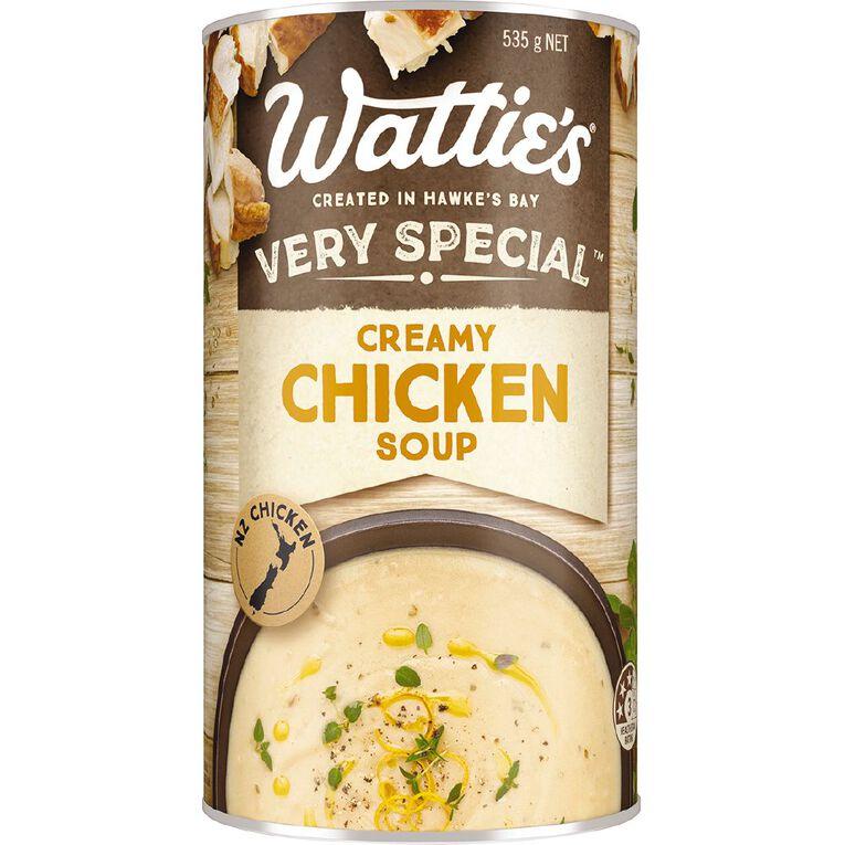 Wattie's Very Special Creamy Chicken Soup 535g, , hi-res