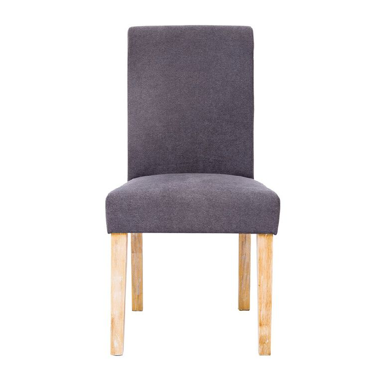 Living & Co High Back Upholstered Dining Chair 2 Pack, , hi-res