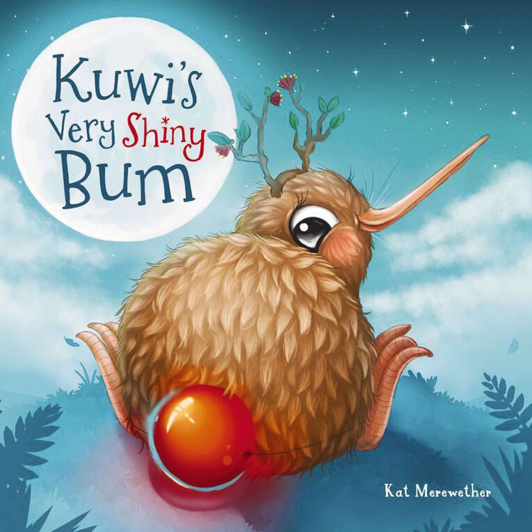 Kuwis Very Shiny Bum by Kat Merewether, , hi-res