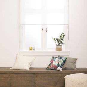 Homeworks Granada Sheer Roller Blind White