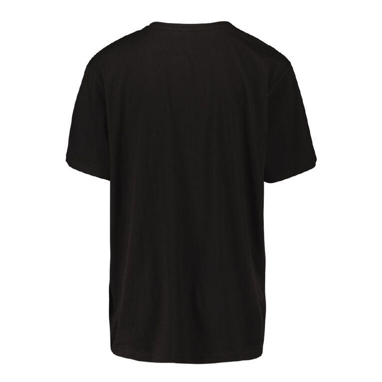 All Blacks Men's Sleep Tee, Black, hi-res