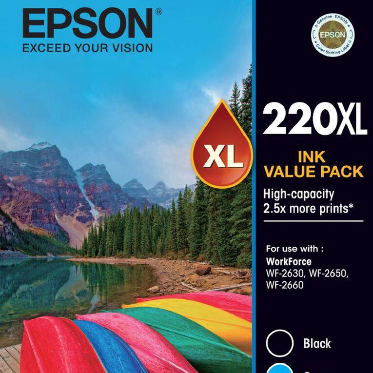 Epson Ink 220XL Value 4 Pack, , hi-res
