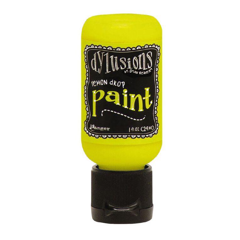 Ranger Dylusions Paint 1oz Lemon Drop, , hi-res