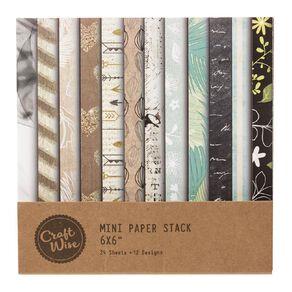 Uniti Designer Paper 6x6 24 Sheets Neutrals