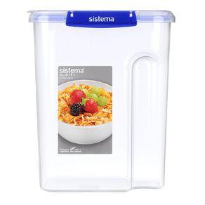 Sistema Klip It Plus Cereal Container Assorted 4.2L
