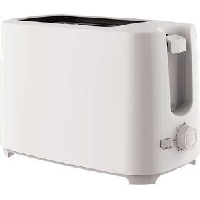 Living & Co Toaster 2 Slice White
