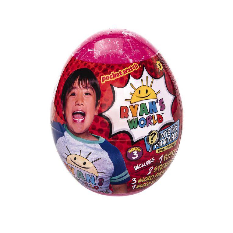 Ryan's World Mega Micro Egg Series 3, , hi-res