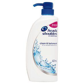 Head & Shoulders Shampoo Clean & Balanced 620ml