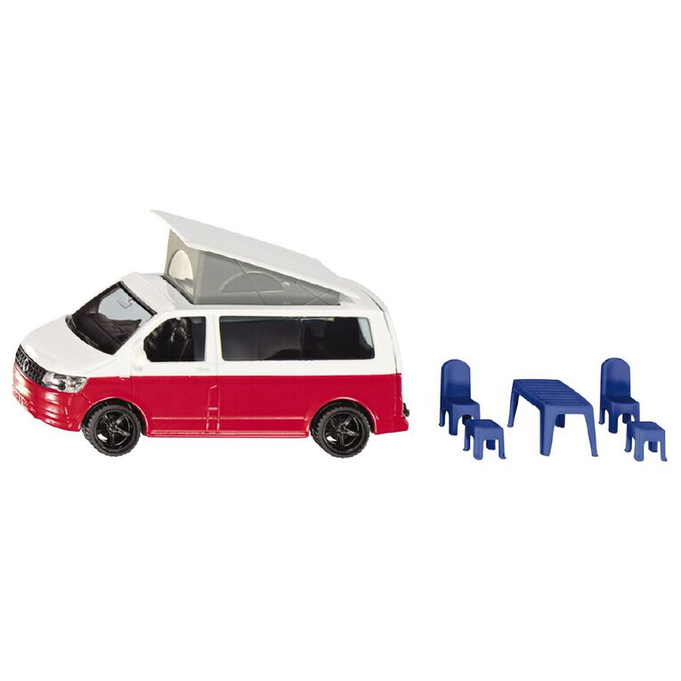 Siku 1:50 VW T6 California Camper with Table & Chairs, , hi-res
