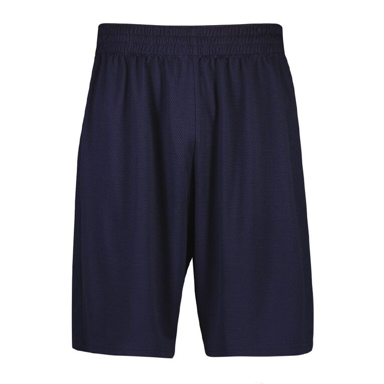 Active Intent Men's Basketball Shorts, Navy, hi-res image number null