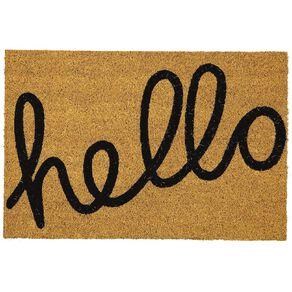 Living & Co Coir Doormat Hello 40cm x 60cm