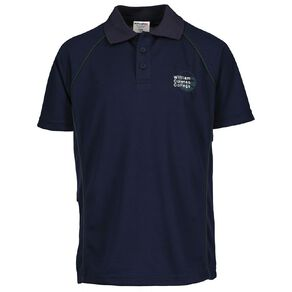 Schooltex William Colenso College Short Sleeve Polo with Embroidery