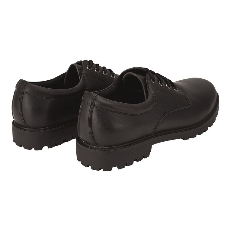 Young Original Lace Up Senior Shoes, Black W21, hi-res image number null