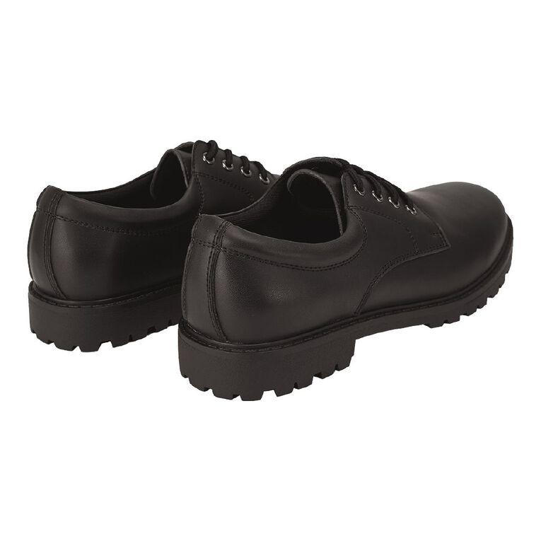 Young Original Lace Up Senior Shoes, Black W21, hi-res