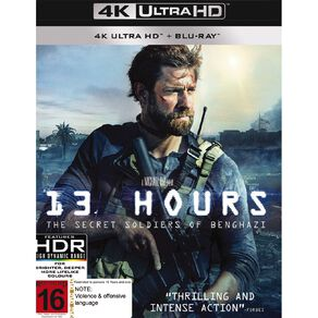 13 Hours The Secret Soldiers Of Benghazi 4K Blu-ray 2Disc