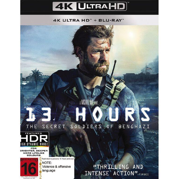 13 Hours The Secret Soldiers Of Benghazi 4K Blu-ray 2Disc, , hi-res