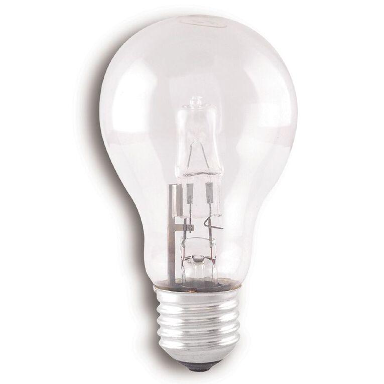 Edapt Halogen E27 Classic Light Bulb Clear 70w Warm White 6 Pack, , hi-res