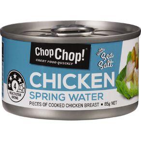 Chop Chop Chicken Springwater & Sea Salt 85g