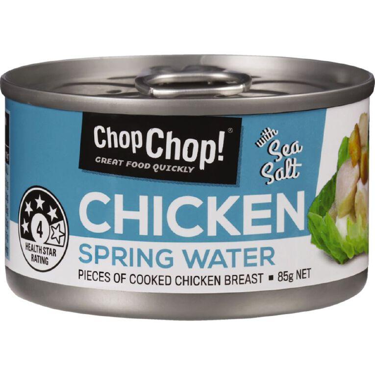 Chop Chop Chicken Springwater & Sea Salt 85g, , hi-res