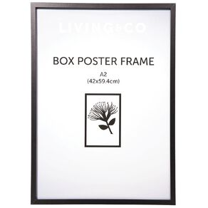 Living & Co Box Poster Frame A2