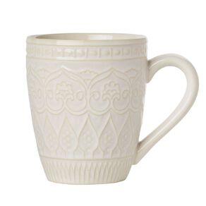 Living & Co Living & Co Glazed Moroccan Mug Cream