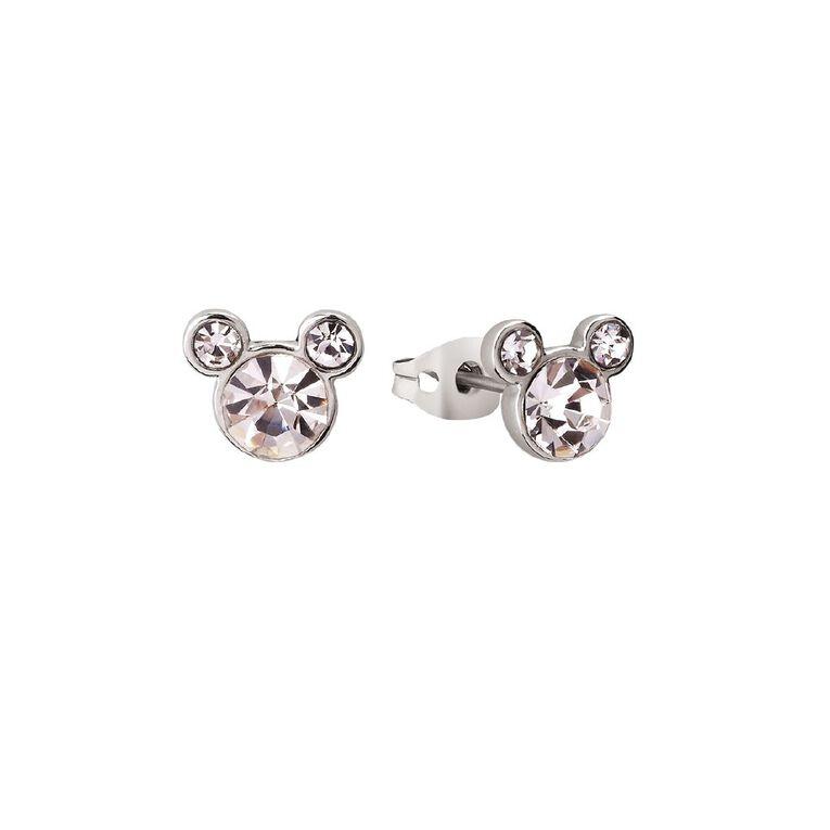 Disney Mickey Mouse Birthstone Earrings April, , hi-res