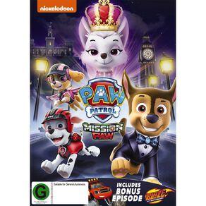 Paw Patrol Mission Paw DVD 1Disc