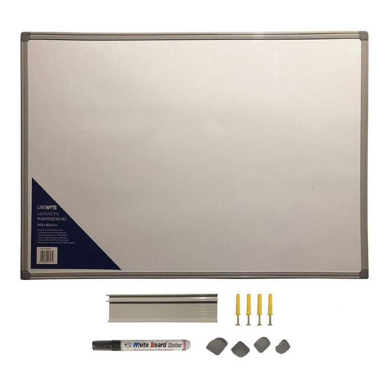 Litewyte Whiteboard 600mm x 850mm A1, , hi-res