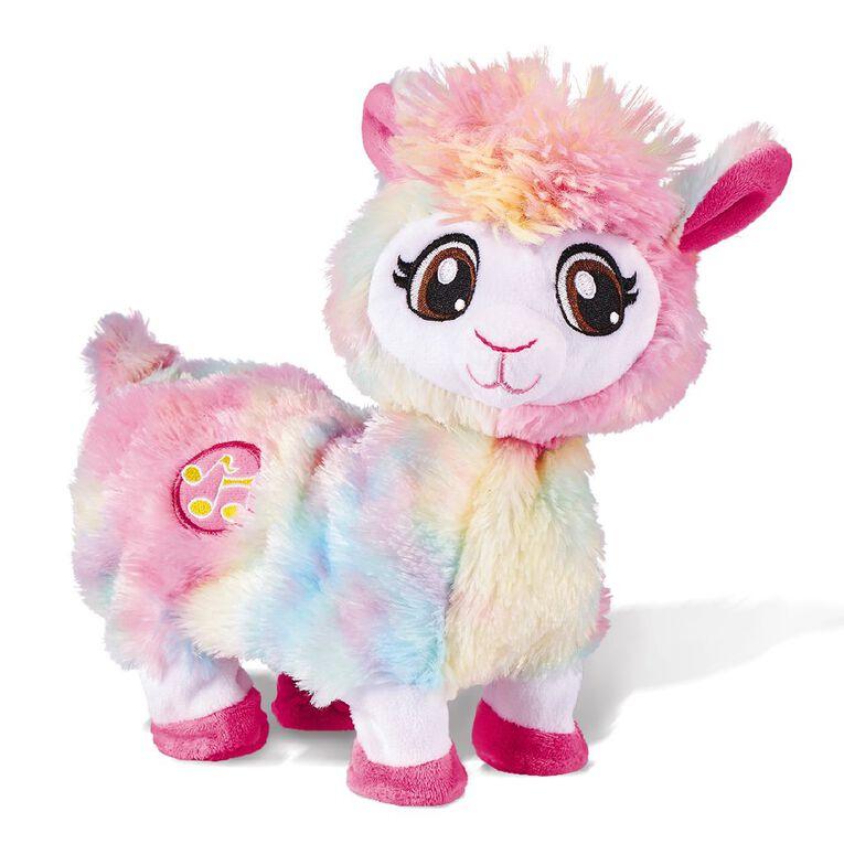 Zuru Pets Alive Bonnie the Booty Shakin' Llama Rainbow, , hi-res