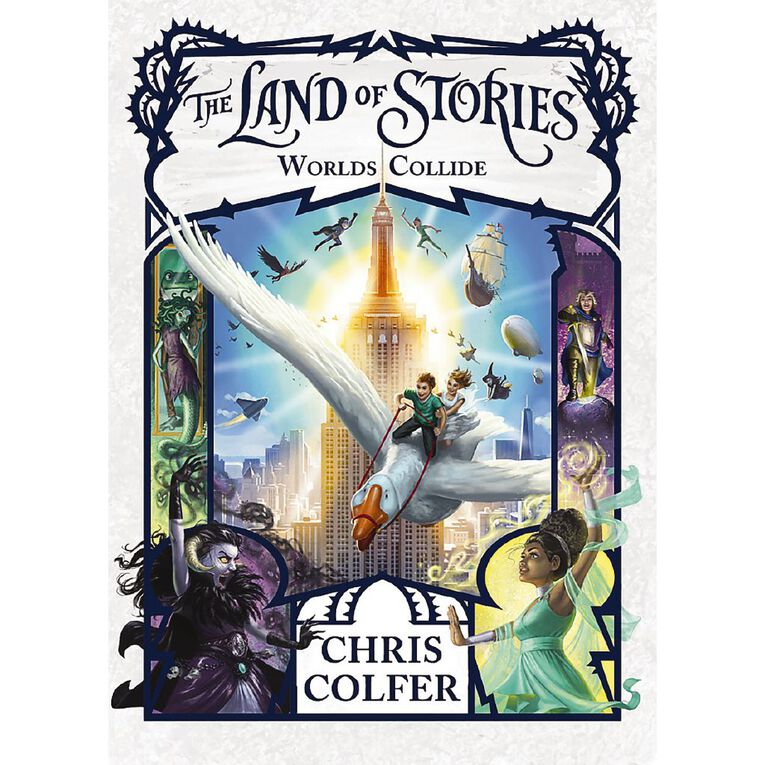 Land of Stories #6 Worlds Collide by Chris Colfer, , hi-res