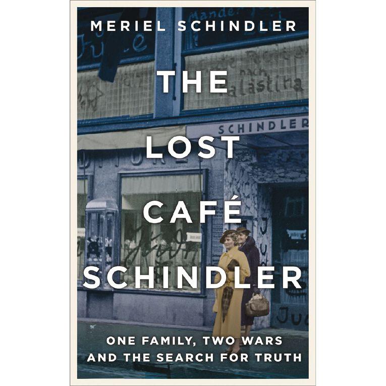 The Lost Cafe Schindler by Meriel Schindler, , hi-res