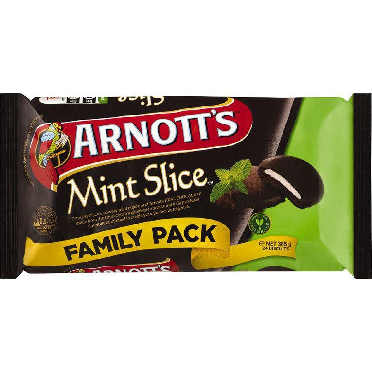 Arnott's Mint Slice Value Pack 365g, , hi-res
