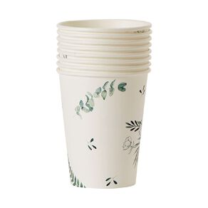Party Inc Leaf Cups 250ml 8 Pack