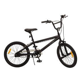 Milazo 20 inch Matte Black BMX Bike-in-Box 408
