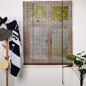 Homeworks Bamboo Roll Up Blind Natural