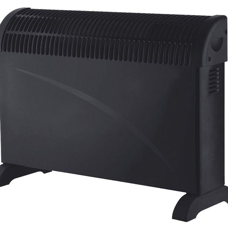 Living & Co Convector Heater 2000W Black, , hi-res