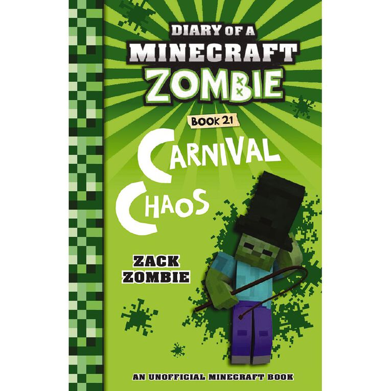 Minecraft Zombie #21 Carnival Chaos by Zack Zombie, , hi-res