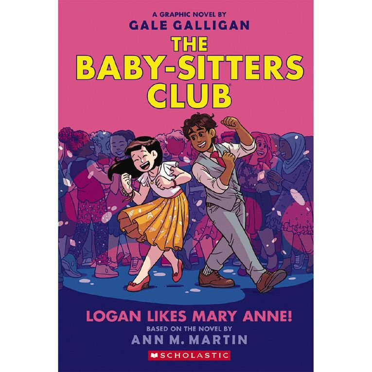 Baby-Sitters Club Graphix #8 Logan Likes Mary Anne! by Gale Galligan, , hi-res
