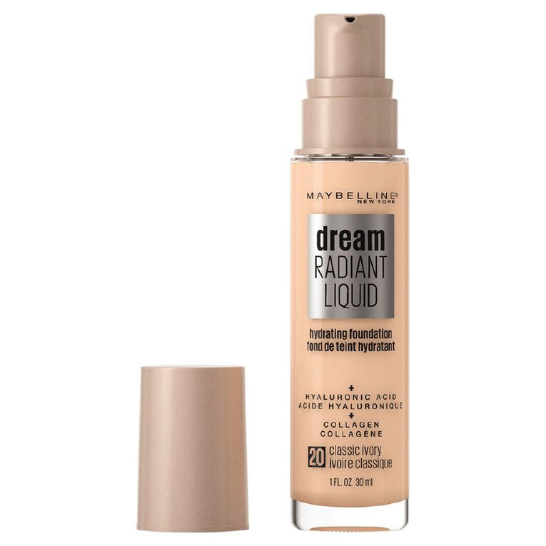 Maybelline Dream Radiant Liquid Foundation Classic Ivory, , hi-res