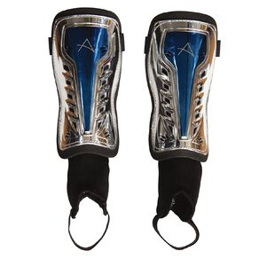 Active Intent Sports Ankle Shinguard Black/Silver
