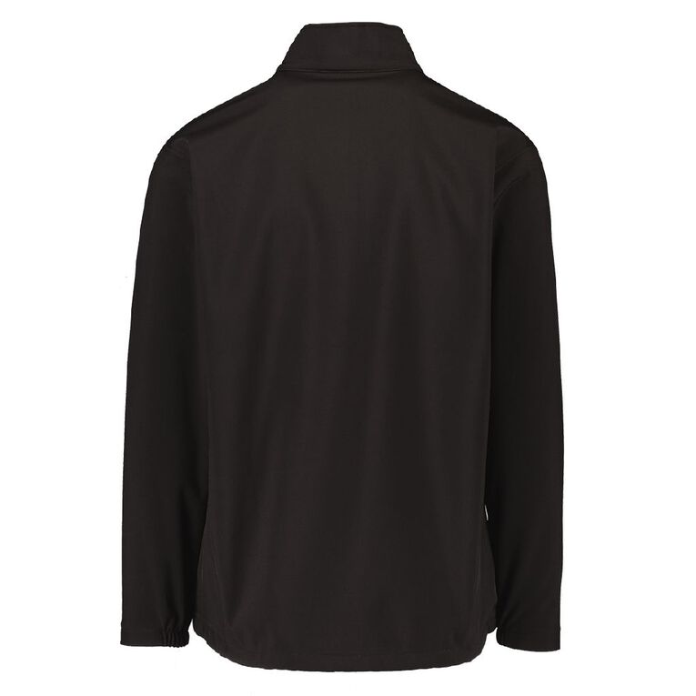 Schooltex Buller Jacket Softshell with Embroidery, Black, hi-res