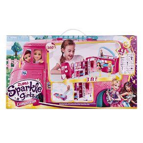 Zuru Sparkle Girlz Retro Camper Van Set
