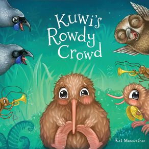 Kuwis Rowdy Crowd by Kat Merewether