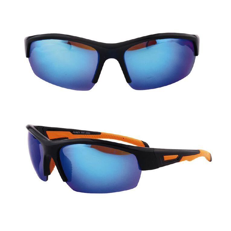 Beach Works Men's Sport Wrap Sunglasses, Mixed Assortment, hi-res