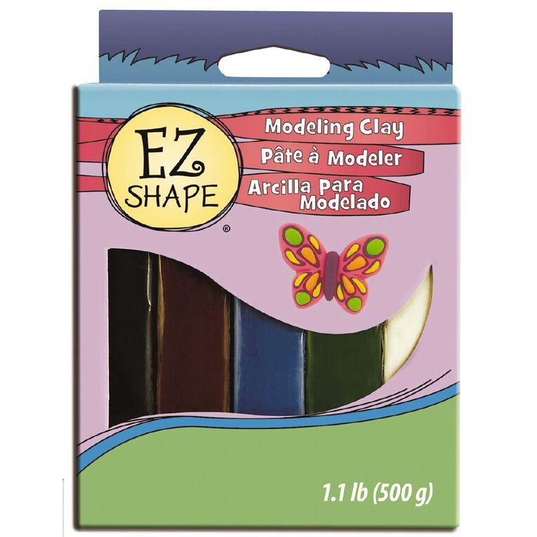 Sculpey EZ Shape Modelling Clay Set 5 Natural Colour, , hi-res