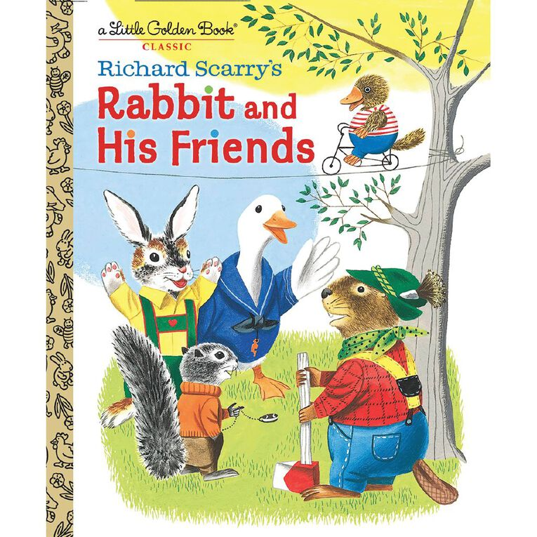 Little Golden Books: Richard Scarry's Rabbit and His Friends, , hi-res